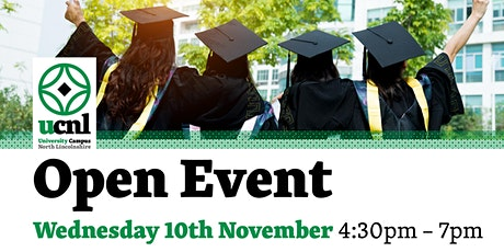 Open Event tickets