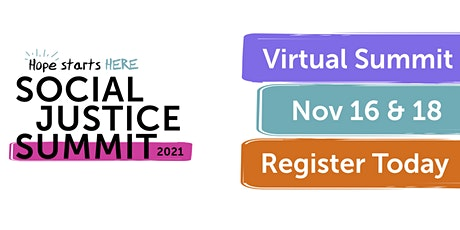 2021 Hope Starts Here Social Justice Summit tickets