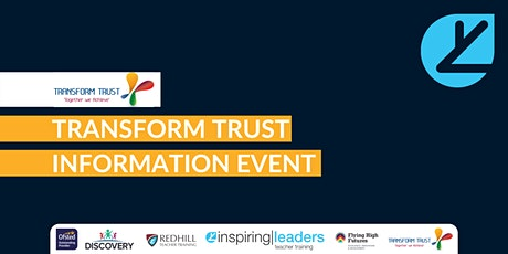Transform Trust Information Event tickets