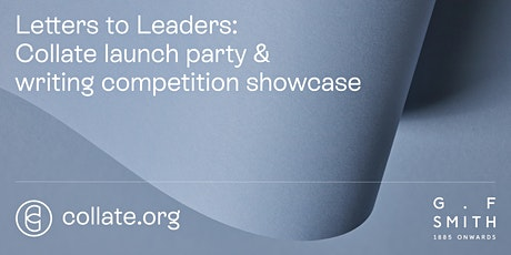 Celebrating letters: Collate launch party & writing competition showcase tickets