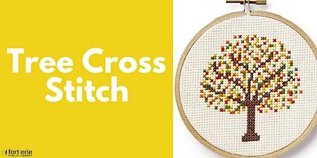 Tween/Teen Craft Kit - Tree Cross Stitch tickets
