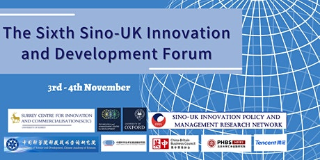 6th Sino-UK Innovation and Development Forum tickets