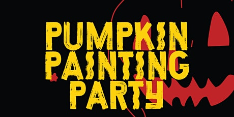 Halloween family pumpkin painting party tickets
