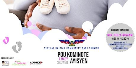 Virtual Haitian Community Baby Shower   Pou Kominote Ayisyen tickets