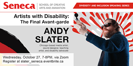 Artists with Disability: The Final Avant-garde with Andy Slater tickets