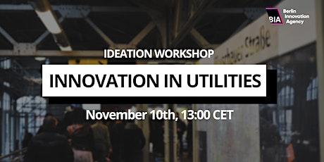 Ideation Workshop — Innovation in Utilities tickets