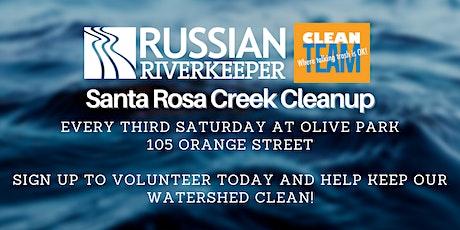 Olive Park, Santa Rosa Creek 3rd Saturday Cleanup tickets
