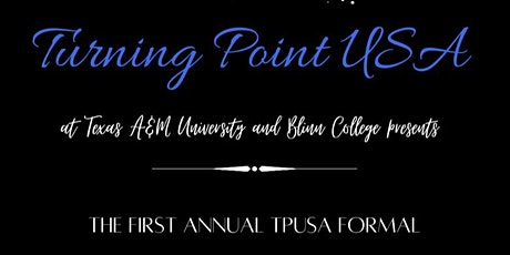 First Annual Turning Point USA Formal tickets