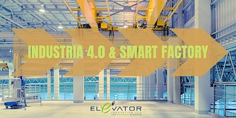 Industria 4.0 e smart factory biglietti