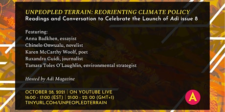 Unpeopled Terrain: Reorienting Climate Policy tickets
