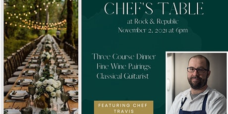 Chef's Table at Rock & Republic tickets