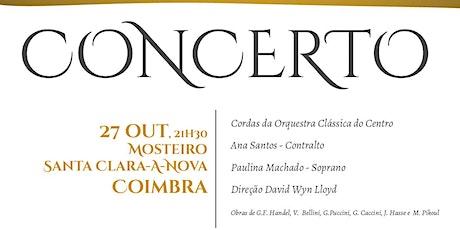 Concertos Mosteiro de Santa Clara – a – Nova bilhetes