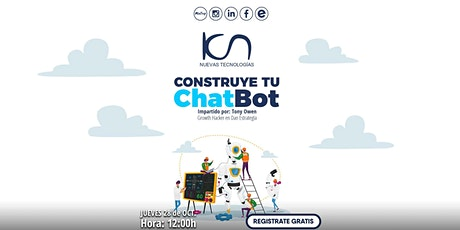 KCN Nuevas Tecnologías Construye tu ChatBot entradas