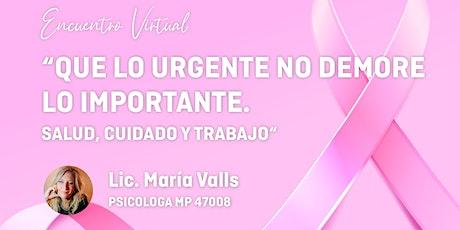 """Encuentro virtual: """"Que lo urgente no demore lo importante"""" tickets"""
