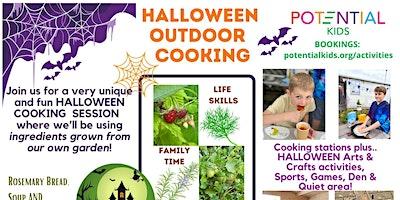 Halloween Outdoor Cooking