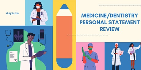 Medicine/Dentistry Personal Statement Review tickets