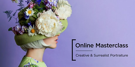 Online Masterclass | Creative & Surrealist Portraits with Claire Luxton tickets
