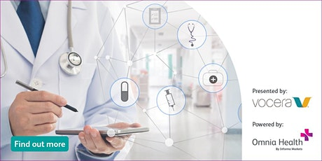 Webinar : Clinical Communications - Smart Hospitals tickets