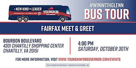 Fairfax Meet & Greet tickets