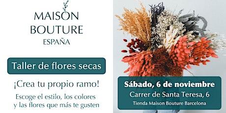 Maison Bouture // Taller Ramos de Flores Secas entradas