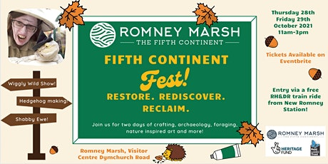 (28th October) Fifth Continent Festival: Restore. Rediscover. Reclaim tickets