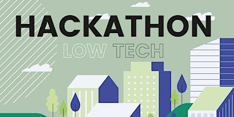 Hackathon Low tech et résilience des territoires billets