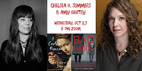 Horror/Thriller Novelists Chelsea G Summers and Amy Gentry tickets