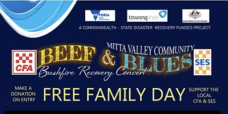 Mitta Valley Community Beef and Blues bushfire recovery Concert tickets