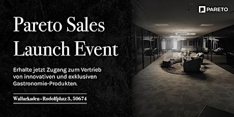 Pareto Sales-Launch Event Tickets