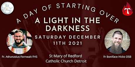 A Light in the Darkness - A Day of Starting Over tickets