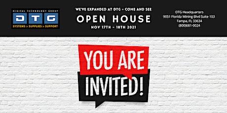 Digital Technology Group Fall Open House tickets