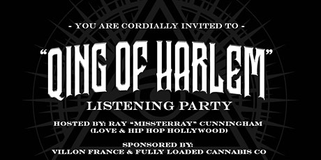 """""""Qing of Harlem"""" Premiere Party + Diamod Qing Meet & Greet tickets"""