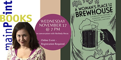 """Tara Nurin, """"A Woman's Place is in the Brewhouse"""" tickets"""