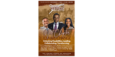 IN-PERSON 2021 Fall Luncheon Next Chapter Towards Change! tickets
