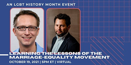 Learning the Lessons of the Marriage-Equality Movement: LGBT History Month tickets