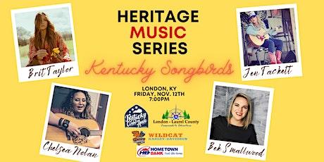 "Heritage Music Series ""Kentucky Songbirds"" tickets"