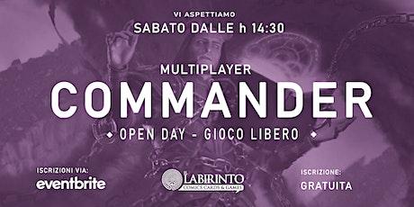 Mtg COMMANDER Open Day biglietti