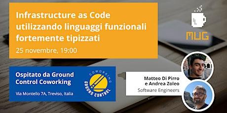 Infrastructure as Code con linguaggi funzionali fortemente tipizzati biglietti