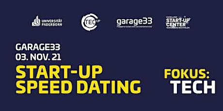 garage33 Start-up Speed Dating – Focus: Tech Tickets
