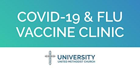 Covid-19 & Flu Vaccine Clinic tickets