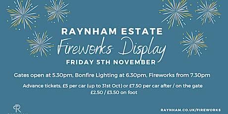 Raynham Estate Fireworks Display tickets