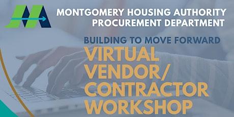 Virtual Vendor/Contractor Workshop tickets