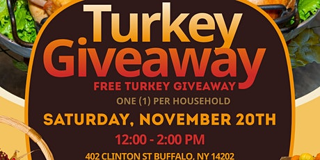 Thanksgiving Turkey Giveway tickets