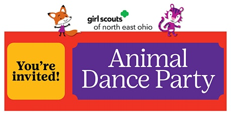 Not a Girl Scout? Join us for an Animal Dance Party! Girard, OH tickets