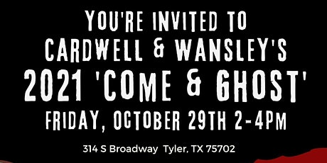 'Come & Ghost' Halloween Happy Hour tickets