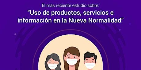 USO DE PRODUCTOS, SERVICIOS E INFORMACIÓN EN LA NUEVA NORMALIDAD boletos