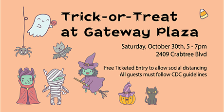 Trick or Treat at Gateway Plaza tickets