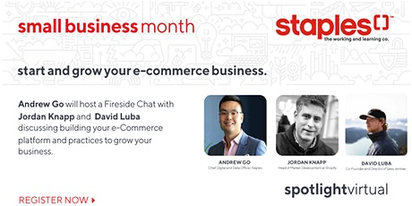 Start and Grow your e-Commerce Business. tickets