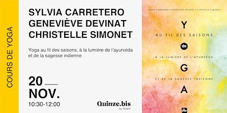 Quinze.bis  x Sylvia Carretero x Christelle Simonet x Geneviève Devinas billets