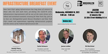 Infrastructure Breakfast Event tickets